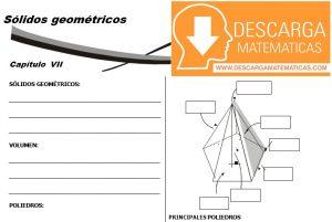 14 Sólidos geométricos Geometria Segundo de Secundaria