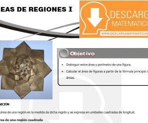 DESCARGAR AREAS DE REGIONES – GEOMETRIA SEGUNDO DE SECUNDARIA