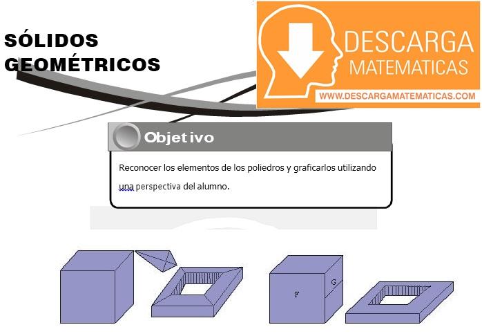 19 Sólidos Geometricos Geometria Segundo de Secundaria