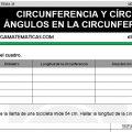 DESCARGAR CIRCUNFERENCIA Y CÍRCULO – MATEMÁTICA SEXTO DE PRIMARIA