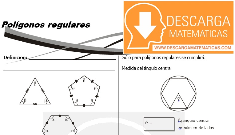 14 Polígonos regulares - Geometria Tercero de Secundaria