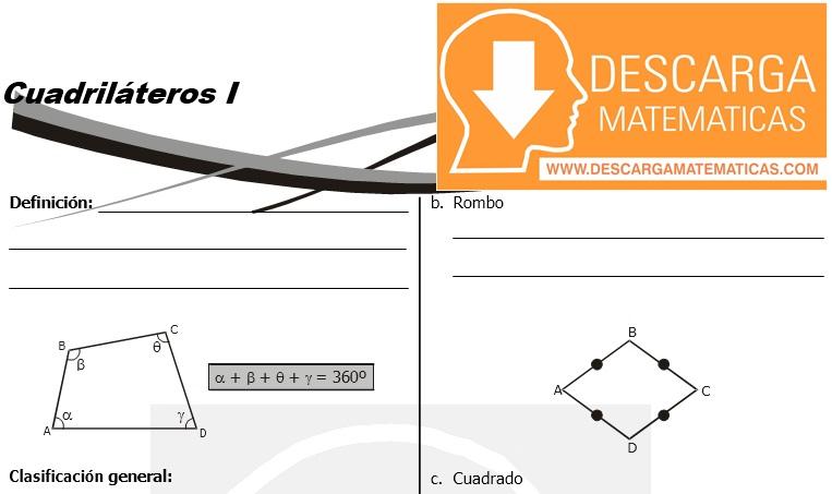 15 Cuadriláteros - Geometria Tercero de Secundaria