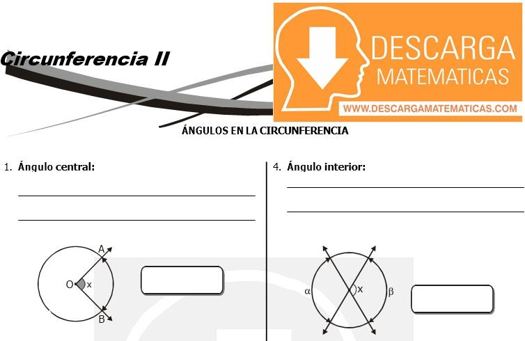 16 Circunferencia - Geometria Tercero de Secundaria