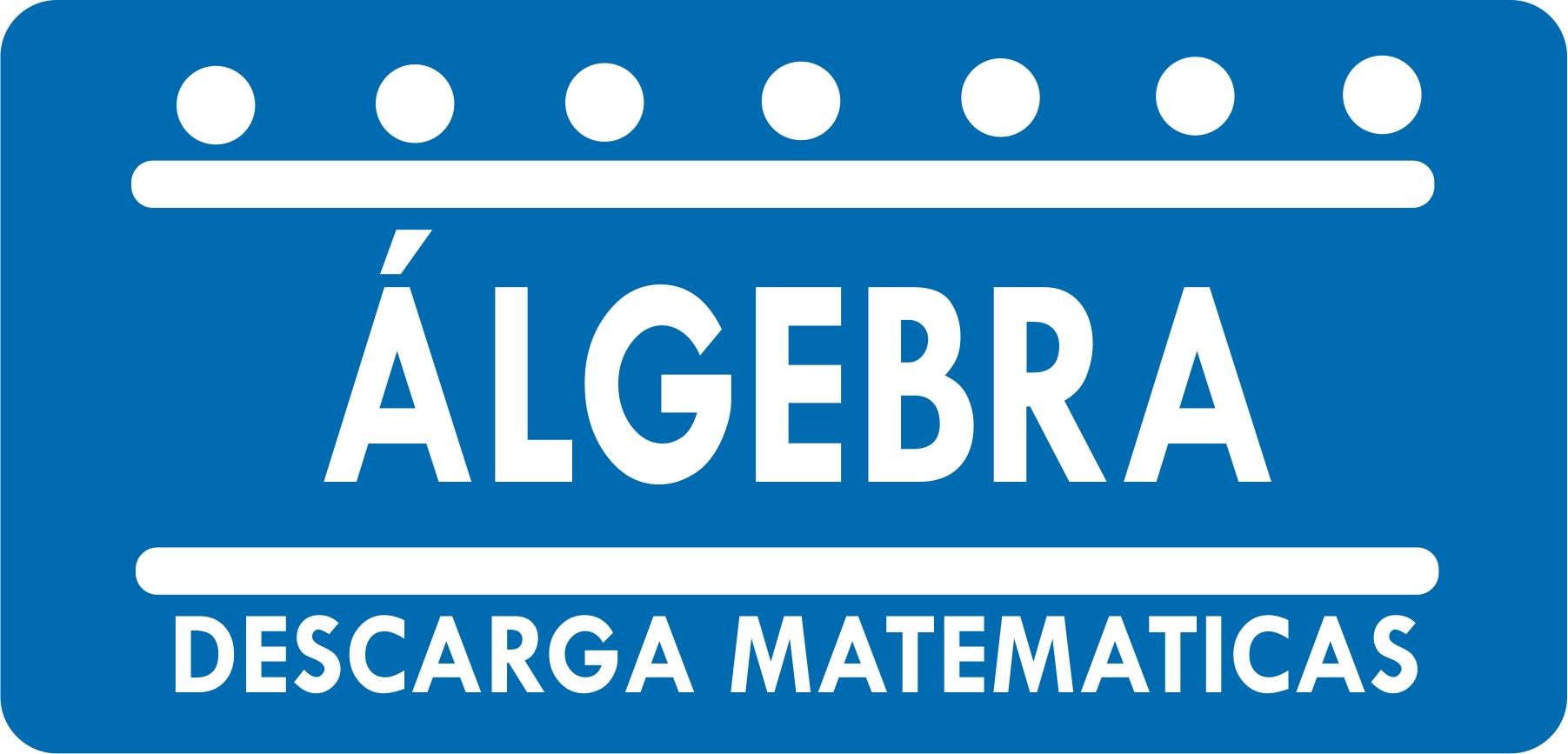 descarga matematicas algebra