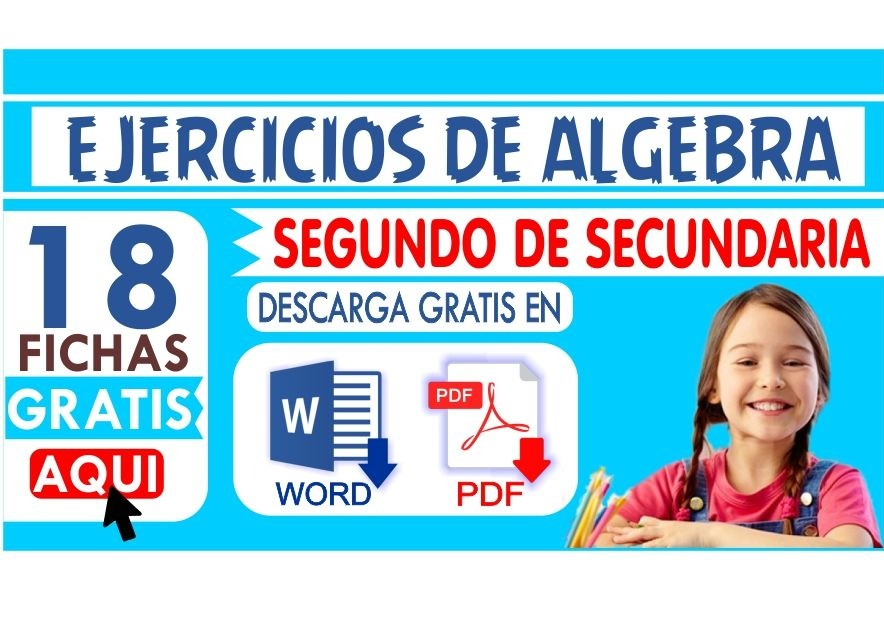 Ejercicios de Algebra para Segundo de Secundaria