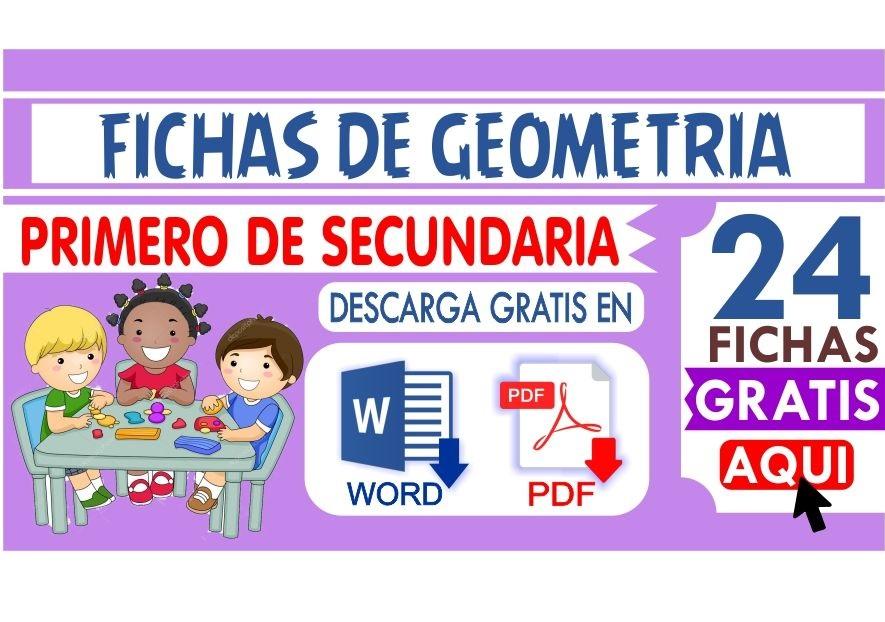 Fichas de Geometria para Primero de Secundaria