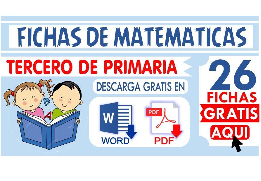 Matematicas Tercero De Primaria Descarga Matematicas